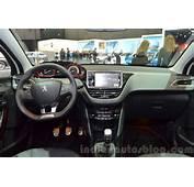 2016 Peugeot 2008 GT Line Dashboard At Geneva Motor
