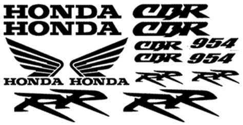 Honda Pan European Aufkleber by Graphics And Stickers Decals For Honda 954rr