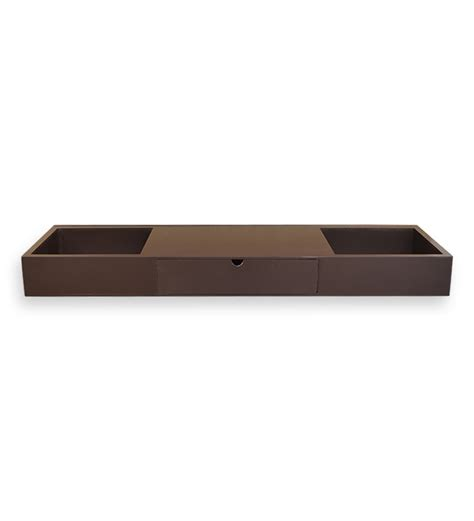 Brown Wall Shelf by Hometown Brown Wall Shelf With Drawer By Hometown