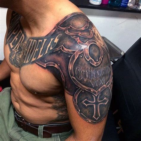chest plate tattoos for men 671 best images about armas armaduras escudos