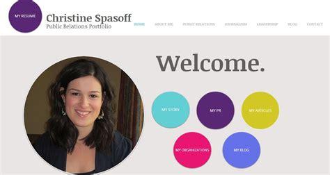 Portfolio Website For Mba Student by Portfolio1 Jpg 1141 215 607 My Random Designs