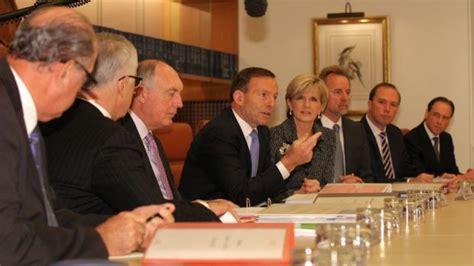 Abbott Cabinet by Julie Bishop Questions Budget Sales In