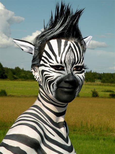 Eyeshadow Zerbr Selt 25 best ideas about zebra paint on zebra makeup facepaint ideas and zebra