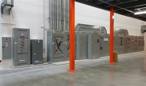 electrical distribution equipment gross electric