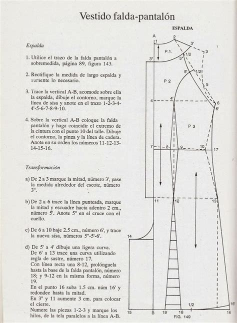 pattern drafting jumpsuit romi w patrones jumpsuit trazo espalda patrones