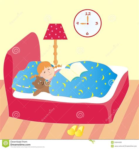 go to bed going to bed clip art cliparts