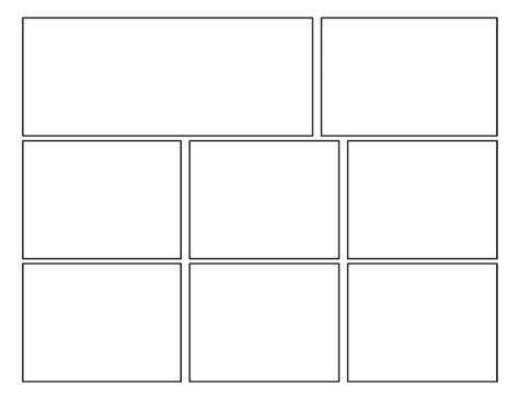 3rd Grade Second Batch Of Comic Templates 3x2 Label Template