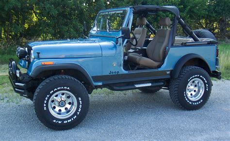 Jeep Yj 7 Jeep Wrangler Cj 7 Technical Details History Photos On