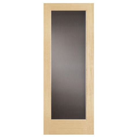 home depot solid core interior door steves sons 24 in x 80 in modern full lite solid core