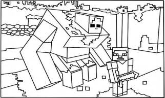 minecraft coloring pages minecraft coloring pages coloring trend skylinepedicab