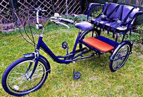 trike with back seat new electric tricycle trikidoo style bike rickshaw
