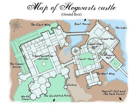 hogwarts castle floor plan hogwarts floor plans 171 floor plans