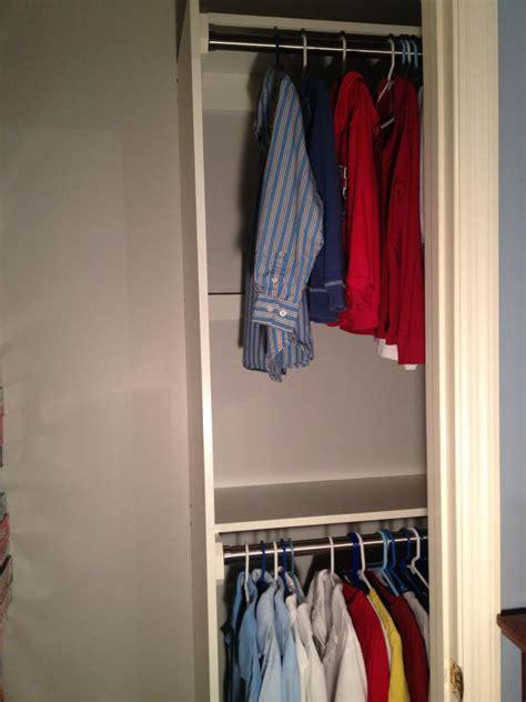 Distance Between Closet Rod And Shelf by Cool Standard Depth Of A Closet Rod Roselawnlutheran