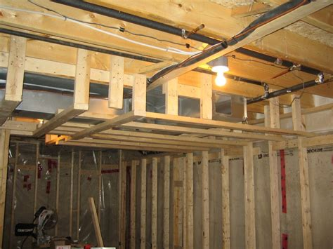 basement framing ceiling 171 ceiling systems