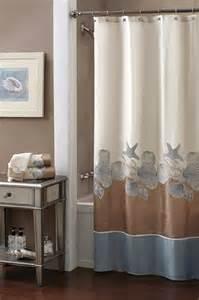 Seashell Curtains Bathroom Seashell Bathroom Decorating Ideas