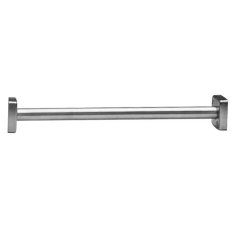 heavy duty curtain rod bobrick b 6107 x 36 classicseries 36 quot stainless steel
