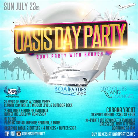 boat brunch party nyc oasis day party boat party with brunch boat parties nyc