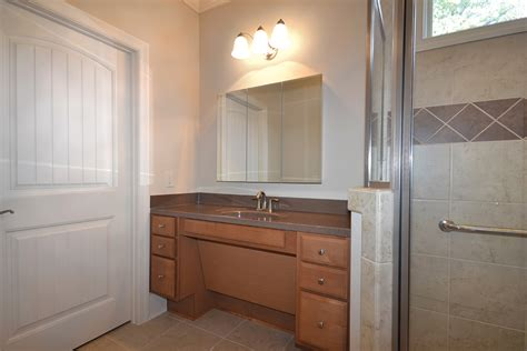 Handicap Accessible Bathroom Vanities Universal Design Atlanta Home Improvement