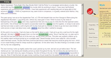 Free Essay Checker Paper Rater by Dale Swanson Paper Rater Free Grammar Checker Proofreader