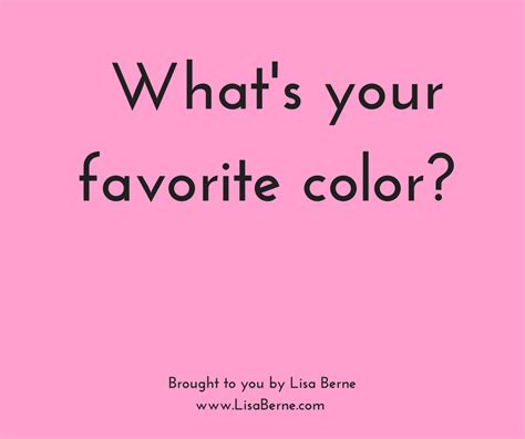 what is your favorite color what s your favorite color berne
