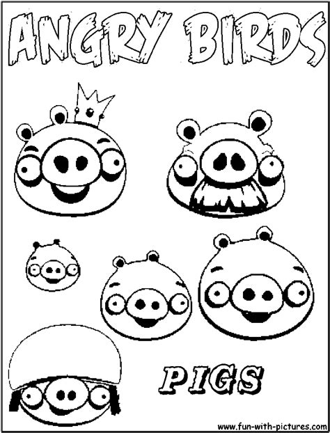 coloring pages of angry birds pigs color angry birds space pigs coloring pages coloring home