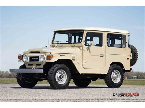 old land cruiser 1977 toyota land cruiser fj for sale classiccars com