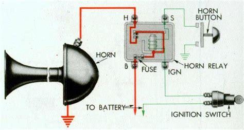1940 chrysler steering wheel horn wiring diagram wiring