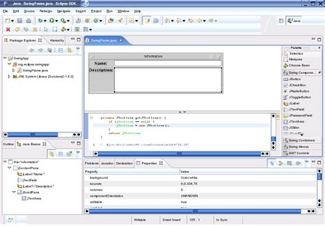 eclipse swing editor java eclipse swing visual editor 28 images