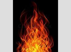 Feuer und Flamme auf dem schwarzen Hintergrund | Stockfoto ... Growling Black Wolf With Yellow Eyes