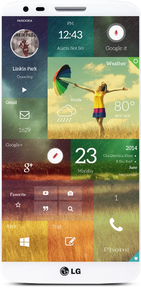 ix android windows phone 9 or just the best android launcher concept phones