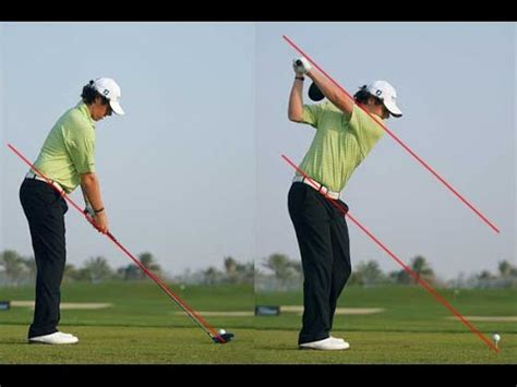 how to learn golf swing rory mcilroy golf swing video lessons youtube