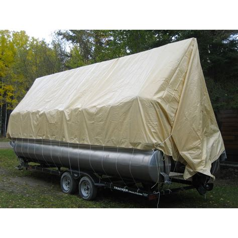 navigloo pontoon boat covers cover for pontoon 25 26 ft with tarp 19x39