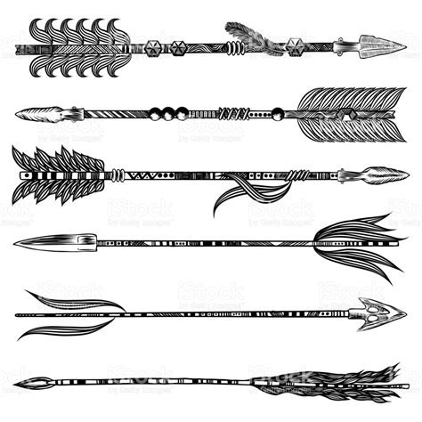 tribal pattern synonym list of synonyms and antonyms of the word native arrow vector