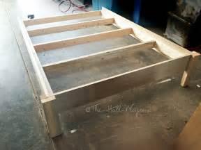 Bed Frame Support Diy Diy Liam Barn Light Bed The Way