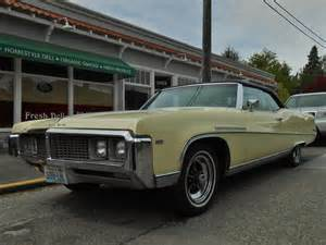 Buick Electric Seattle S Parked Cars 1969 Buick Electra 225 Convertible