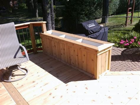 deck benches and planters deck planter bench e2 80 93 landscape and plants best planters ideas image of box