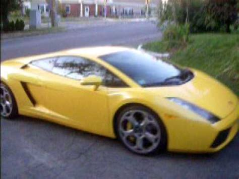 In My Lamborghini Gallardo by Lamborghini Gallardo Parked In My Driveway