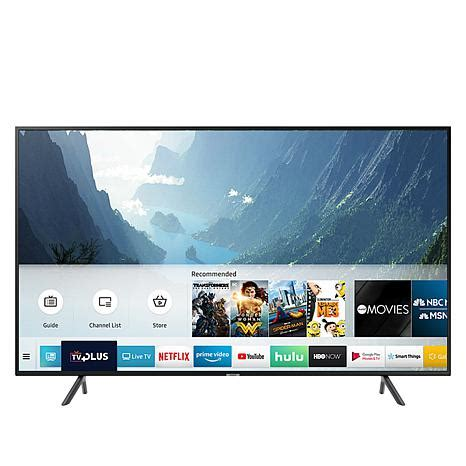 samsung nu7100 samsung nu7100 65 quot 4k uhd smart tv with hdmi cable and 2 year warranty 8766973 hsn