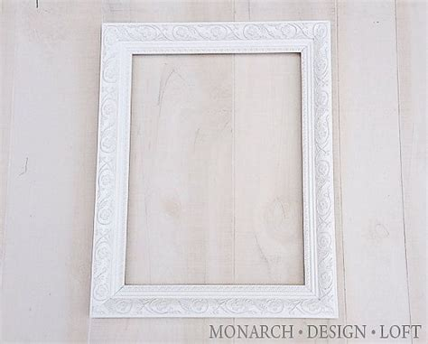 12x16 large white frame ornate shabby chic ideas white