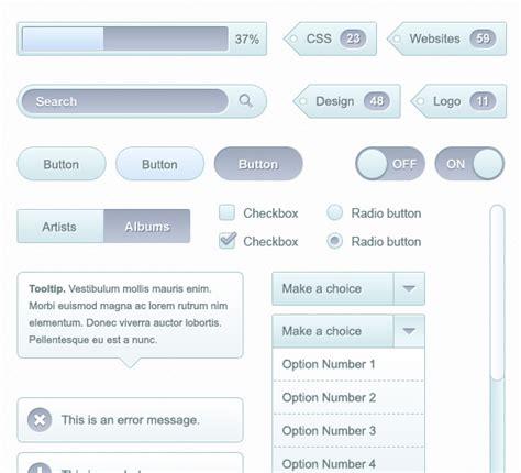 design ui elements 50 psd ui web design elements webdesigner depot