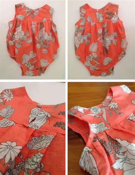 free toddler romper sewing pattern baby m 228 dchen strler pdf schnittmuster und von frianki