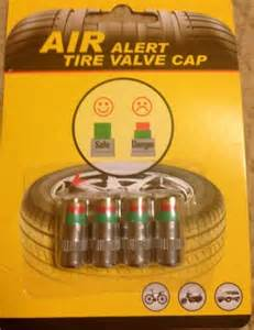 Car Tire Air Alert Free Air Alert Tire Valve Cap Accessories