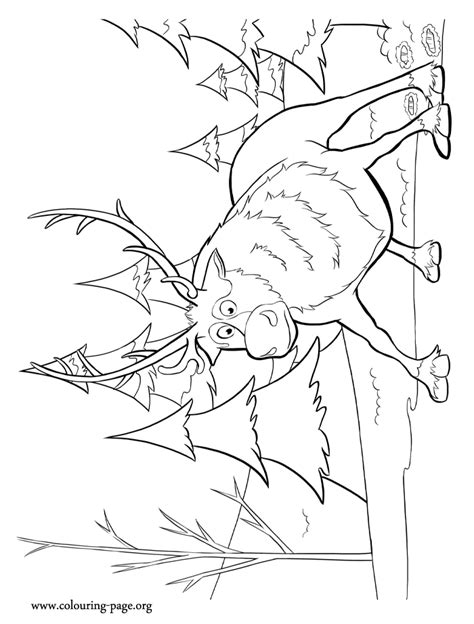 coloring pages frozen sven free coloring pages of frozen page 12
