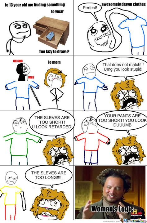 Meme Woman Logic - women s logic clothes by epictrollguy1337 meme center