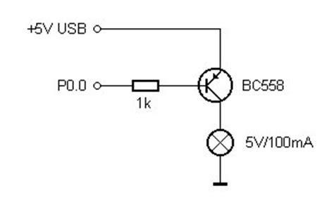 pnp transistor als schakelaar usb port 2