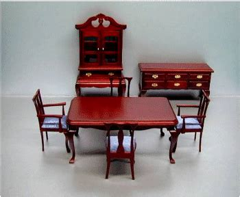 Dollhouse Dining Room Furniture Dollhouse Diningroom Furniture From Fingertip Fantasies Dollhouse Miniatures