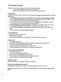 Sample Of Report Writing Format For Students Yvonne Divans Hutchinson Class Anatomy