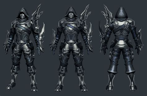 zbrush gloves tutorial making of demon hunter by wuxu page 2 of 6