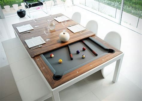 One Or Two Nightstands Dining Table Turn Dining Table Into Pool Table