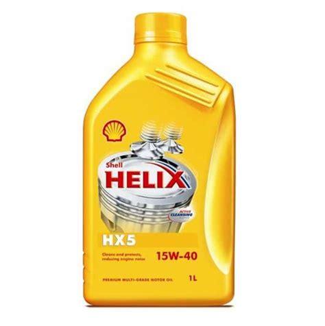 Oli Mobil Shell Helix Hx5 15w 40 1liter 1 liter shell helix hx5 15w40 voorheen olietekoop nl